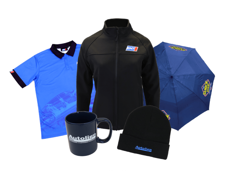 branded merchandise suppliers for apparel, schools and corporate wear
