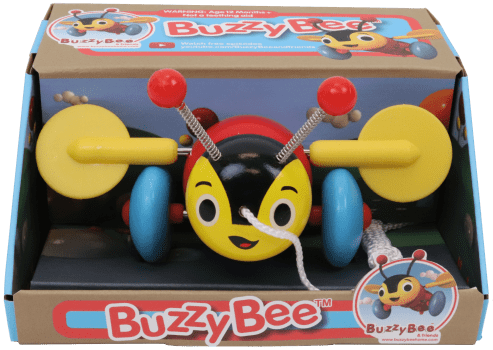 Buzzy Bee licensed products and infants toys
